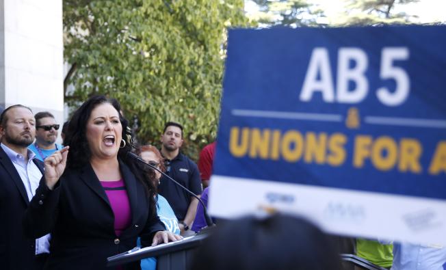 加州劳工五号法案 改变合同工定义