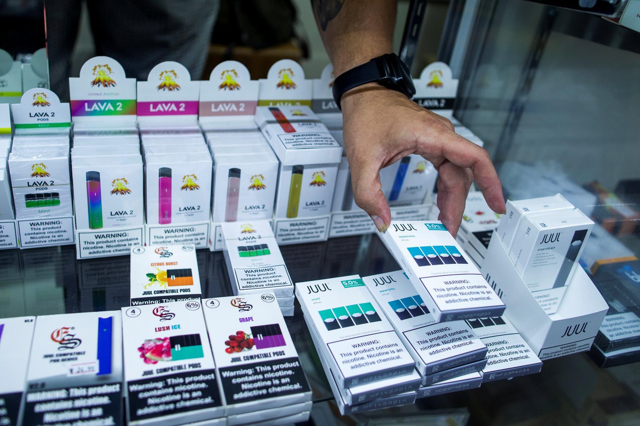 保护青少年健康 食药局禁大部分口味电子烟