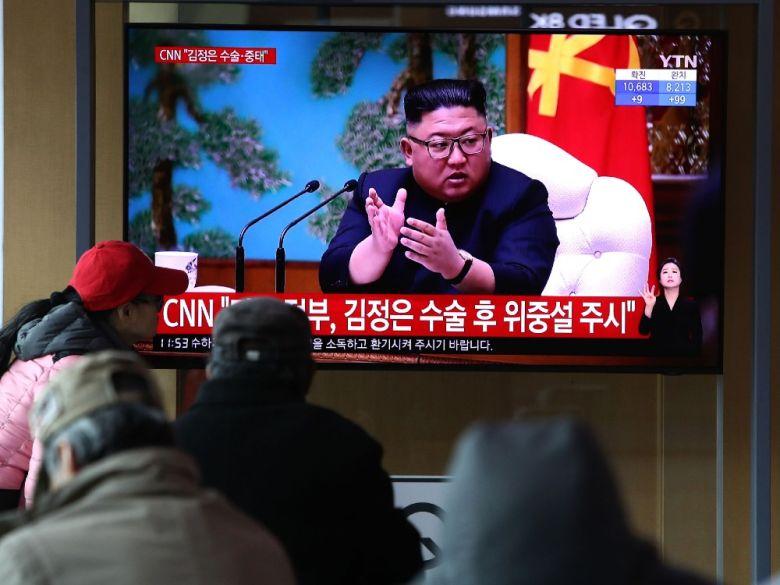 传言朝鲜领导人金正恩病危,朝方媒体27日报道金正恩行程辟谣