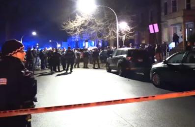 芝加哥上周日发生大规模街头暴力与抢劫事件