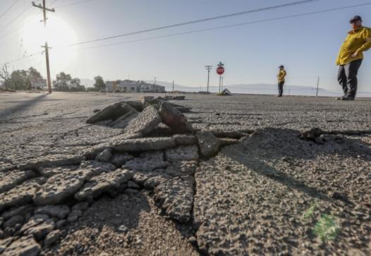 美墨边境的圣安德里斯断层8月10日发生多起地震