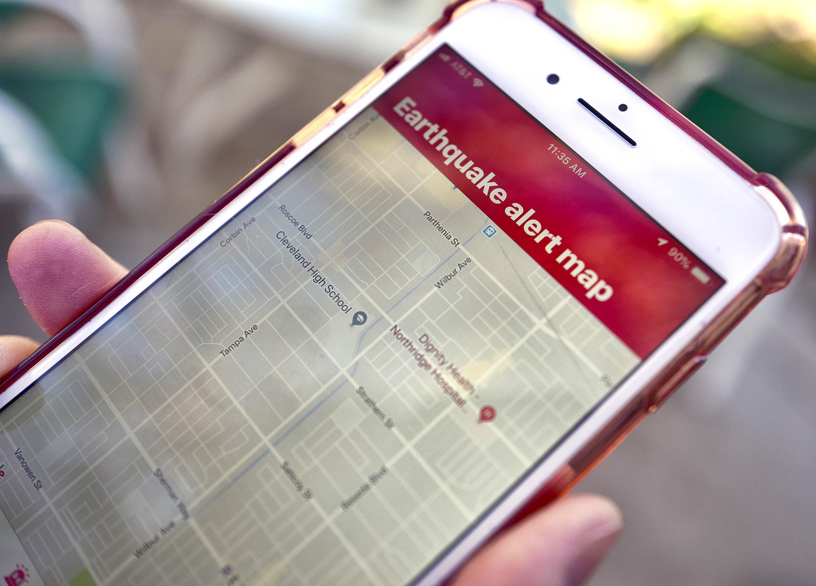 谷歌将加州地震预警系统添加至安卓手机基本操作系统中