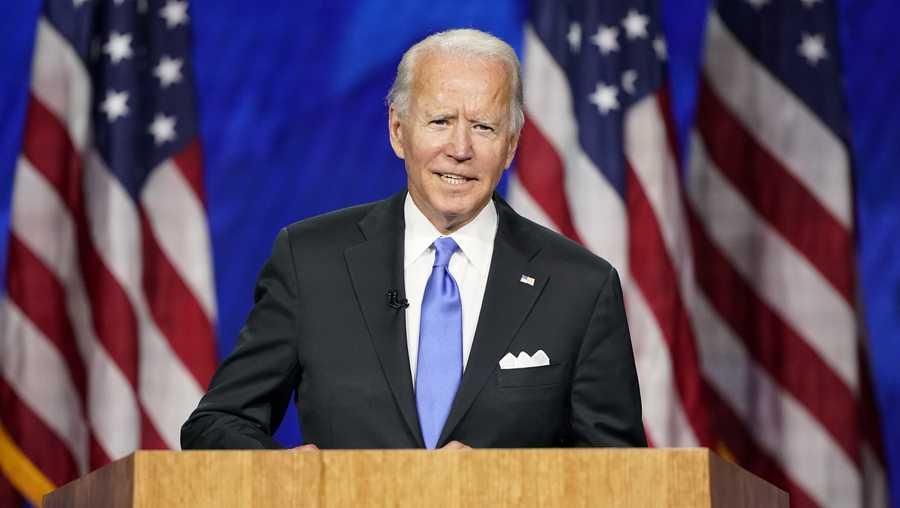 民主党大会第四天拜登正式接受民主党总统提名