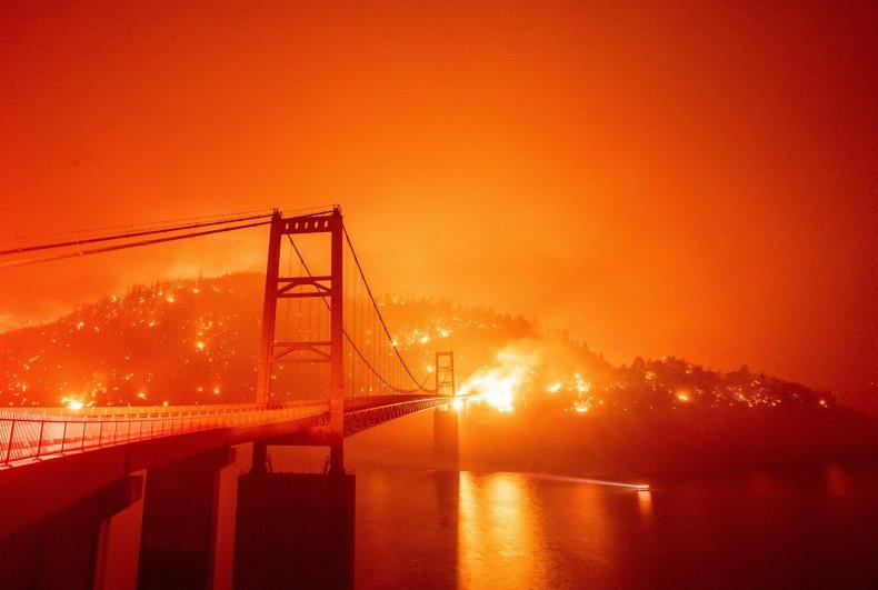 西海岸火势更新--加州篇