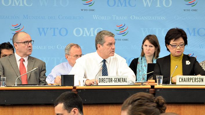 WTO秘书长首轮遴选候选人从8人缩至5人