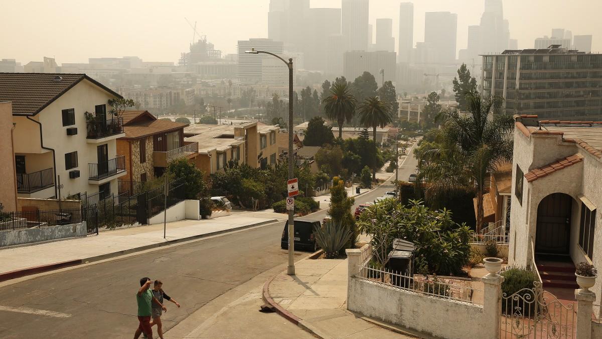 南加州空气质量在周四有所缓解