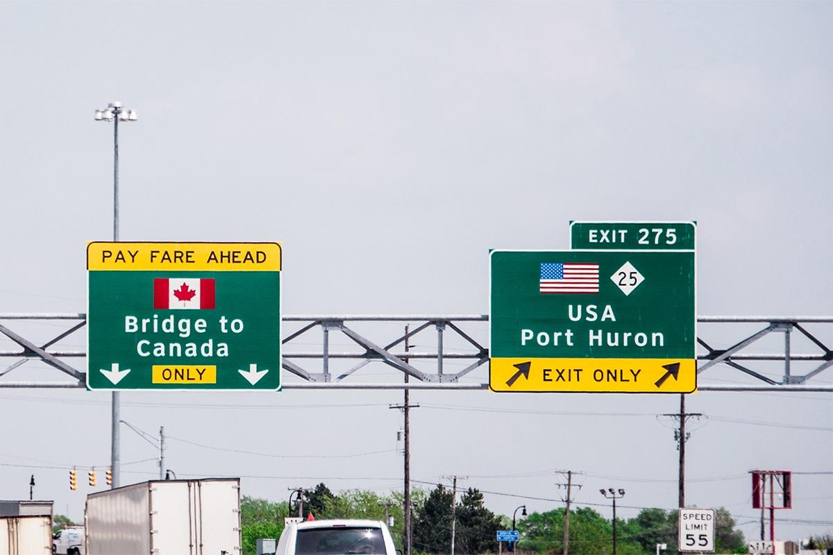 加拿大和美国将延长两国间非必要性旅行禁令至10月21日