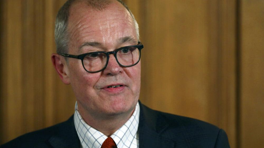 英国首席科学官瓦朗:再不实施禁令英国新冠每天将新增5万