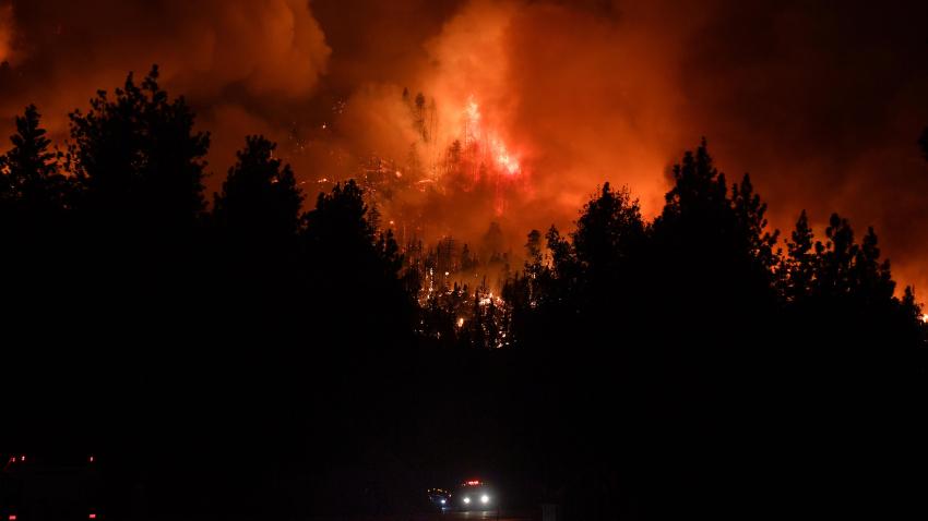 艾尔都拉都野火已扩大至超22,500英亩