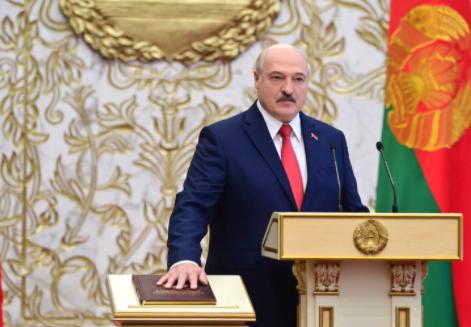 白俄罗强人领袖斯鲁卡申柯秘密宣布就职总统