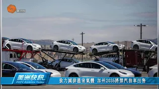 致力減排溫室氣體 加州2035將禁汽油車出售