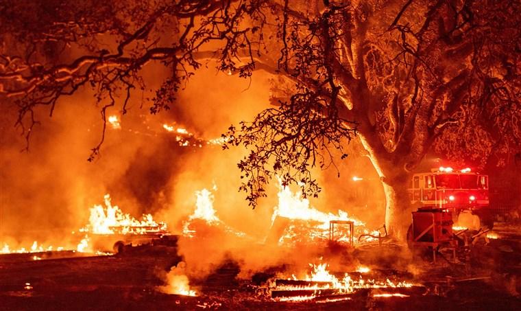 加州今年山火烧毁土地面积突破400万英亩