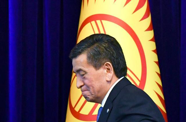 吉尔吉斯总统为终结国会选举危机今天辞职