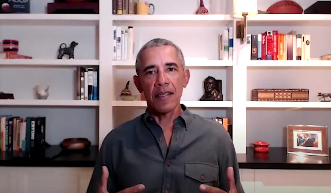 奥巴马:特朗普纵容虚假信息散播