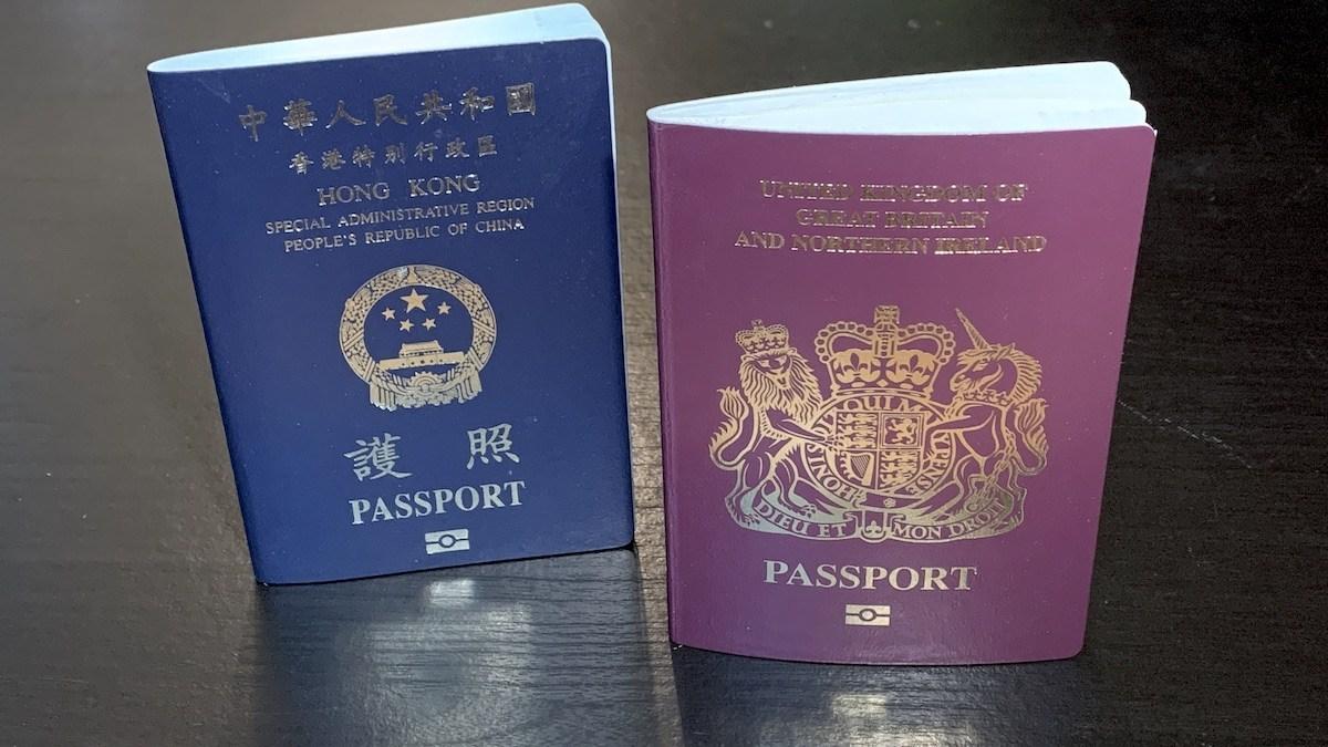 英国从明年1月31日期开放拥有BNO的香港人申请居留签证