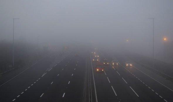 洛杉矶未来几天空气湿度变高,有浓雾和路滑的风险