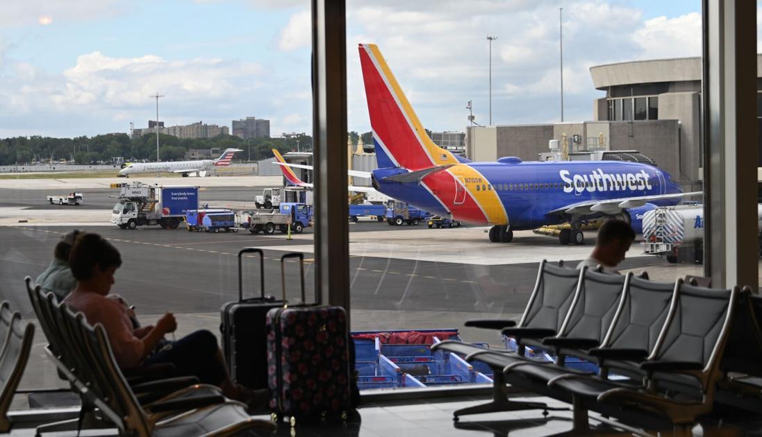 西南航空将在12月1日出售飞机坐位的全部机票