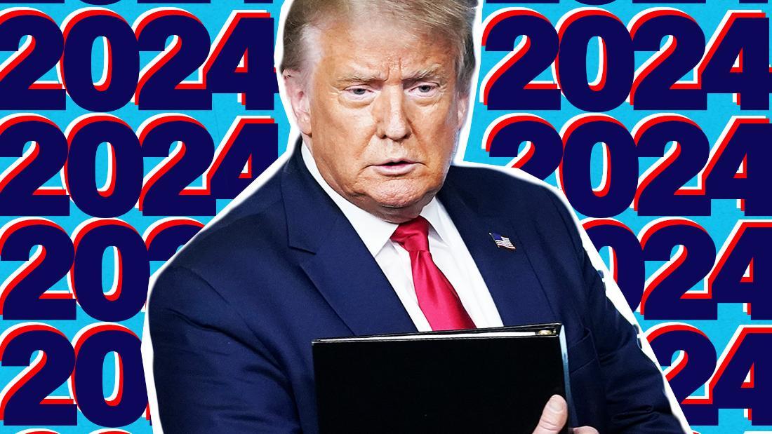 特朗普表示参与2024年总统竞选