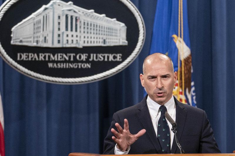 美国司法部已指控70名国会暴力参与者