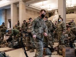 FBI将协助军方审查维护总统就职典礼安全的2.5万国民兵