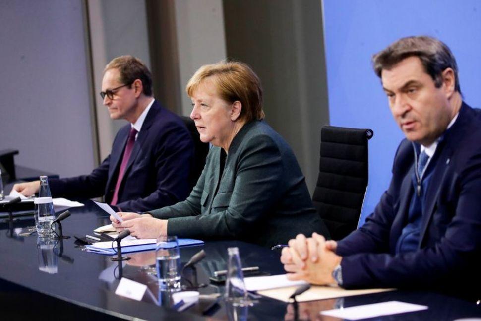 德国将疫情期间封锁令延长至2月14日