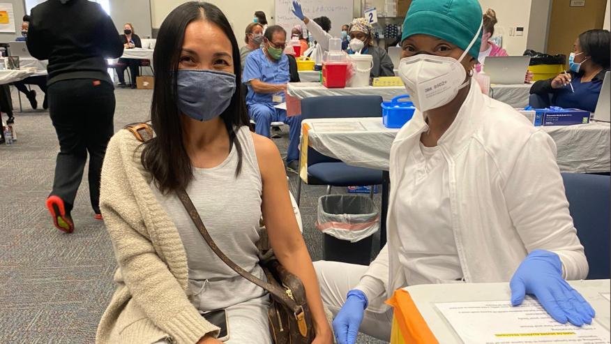 文图拉县25日开始为教师、食品和农业工作者接种新冠疫苗