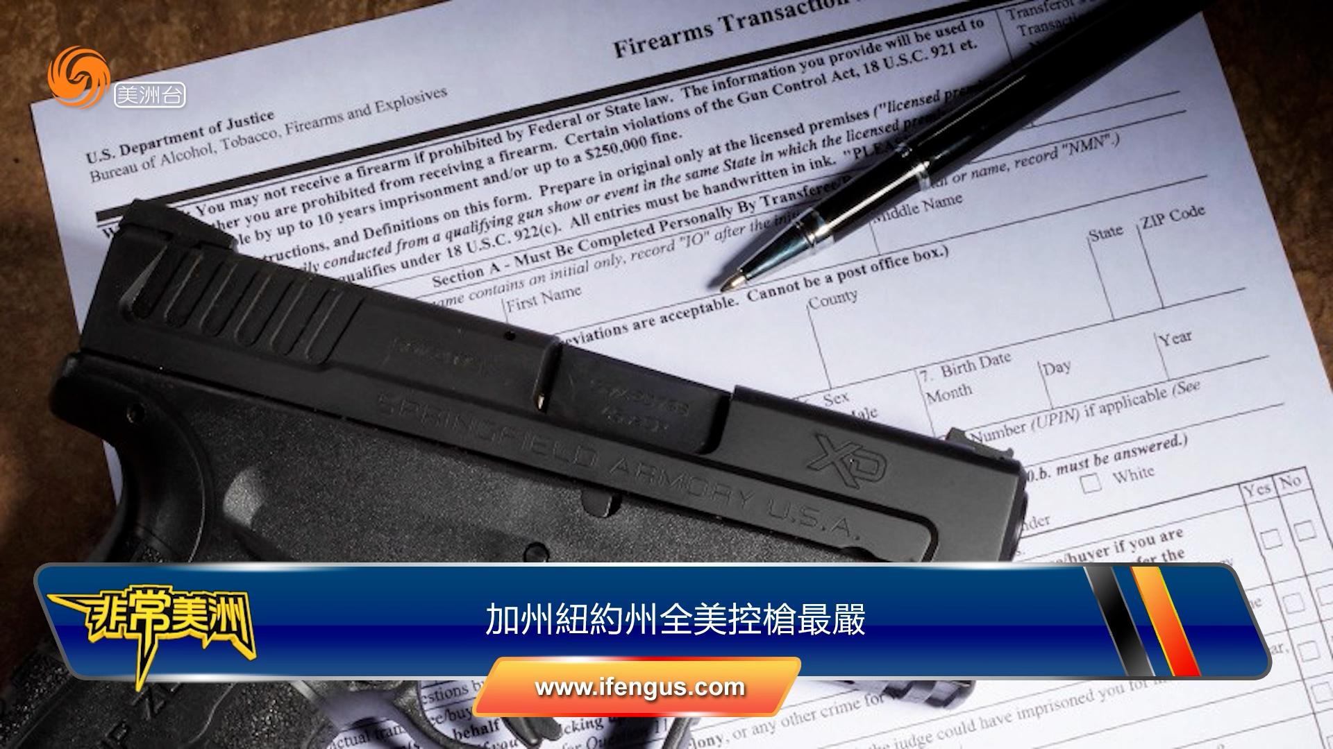 加州紐約州全美控槍最嚴 得州州長誓言捍衛擁槍權