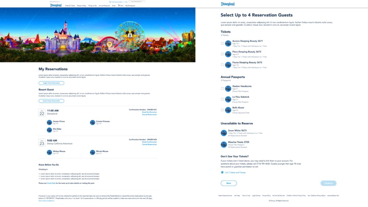 迪士尼乐园和加州冒险乐园入园预约系统已上线
