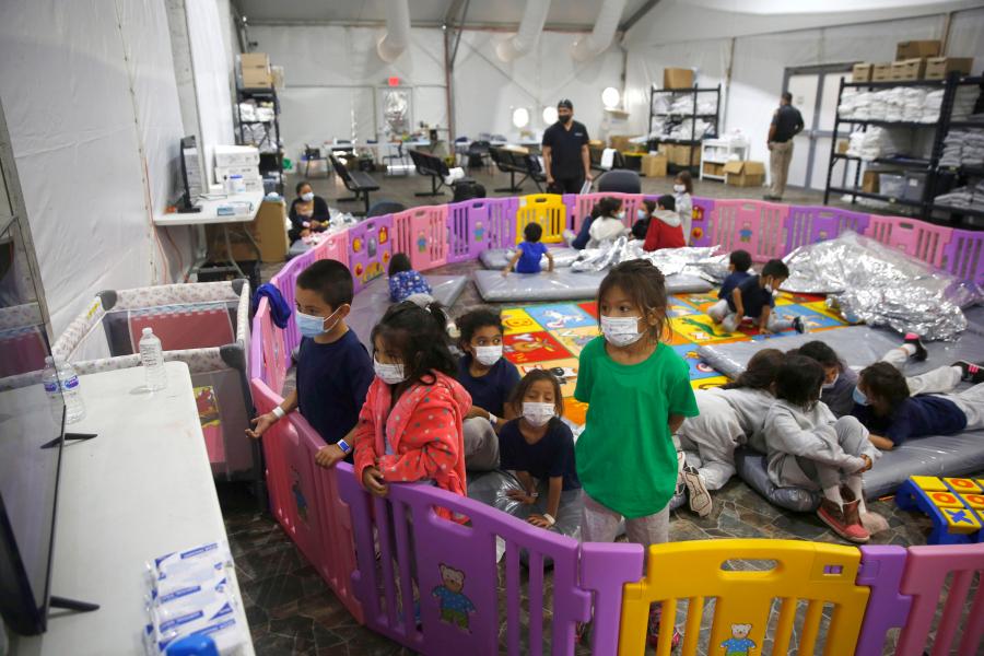 联合国儿童基金会:美墨边境需要更多的收容设施安置移民儿童