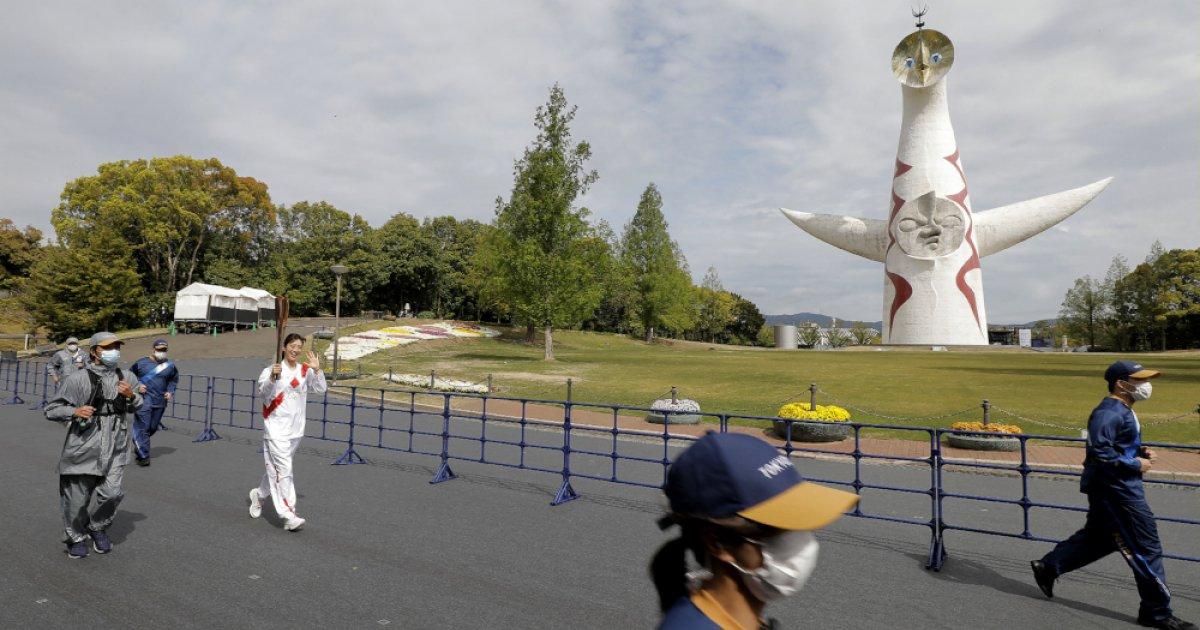 东京奥运圣火传递期间出现首例新冠感染者