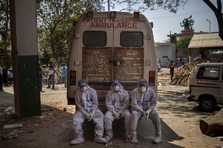 全球新冠死亡已超310万例,多国对印度疫情困境施援