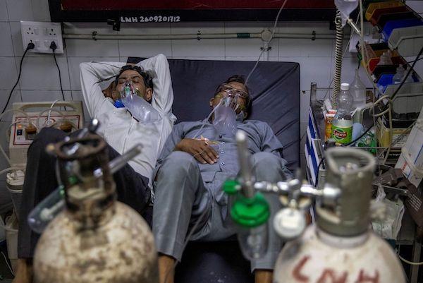 印度的病例显示大流行的严重影响仍在进行