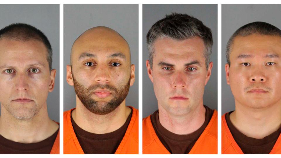 弗洛伊德案后续 涉事警员遭联邦控罪