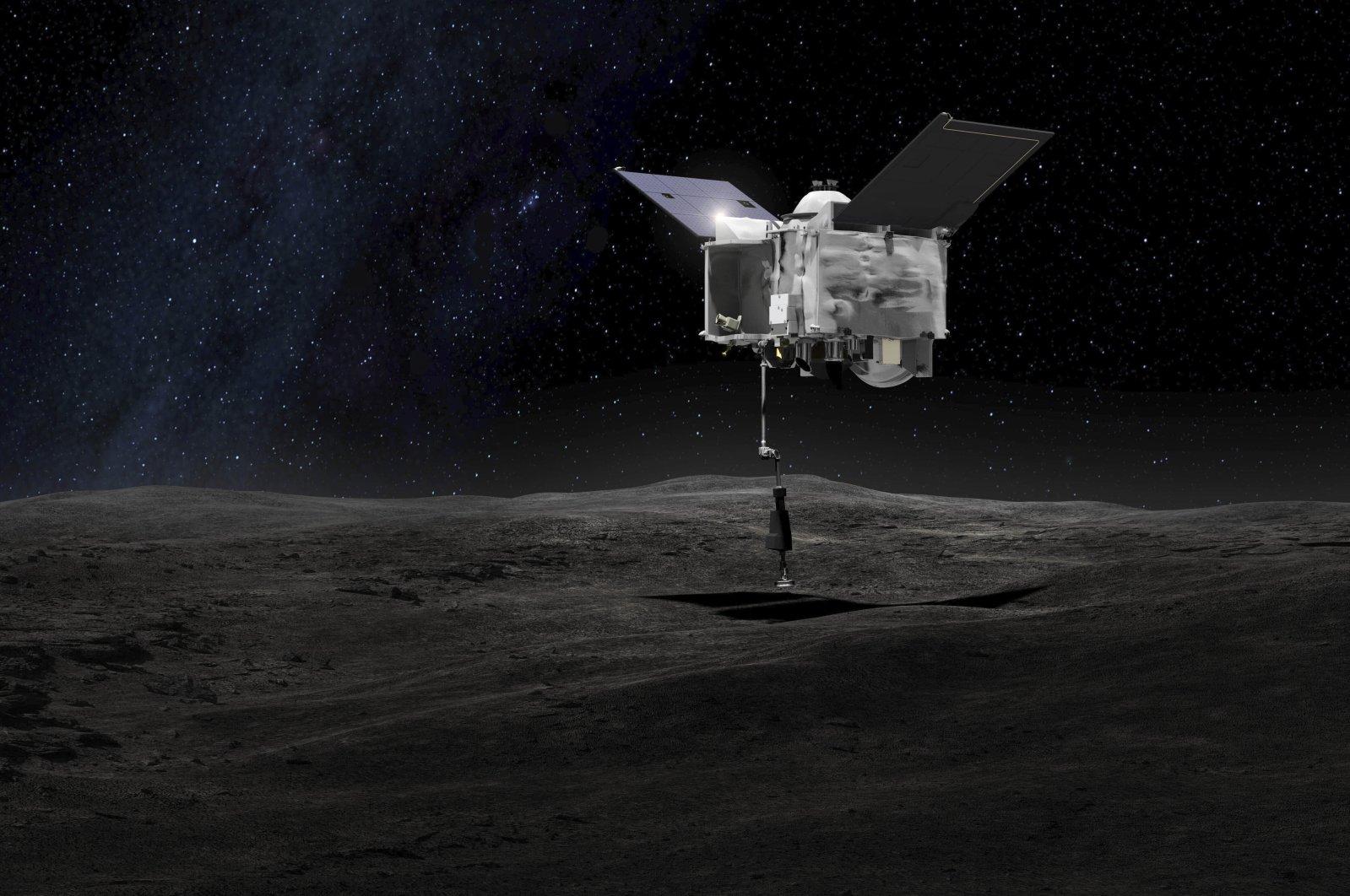 NASA在小行星贝努尘埃样本上发现氢与氧分子