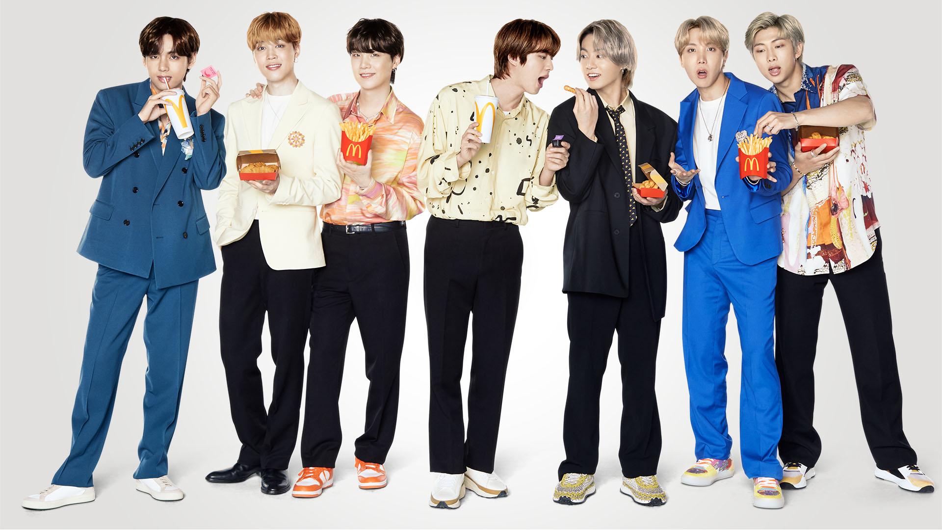 万众期待的麦当劳 x BTS(防弹少年团)合作特餐正式推出
