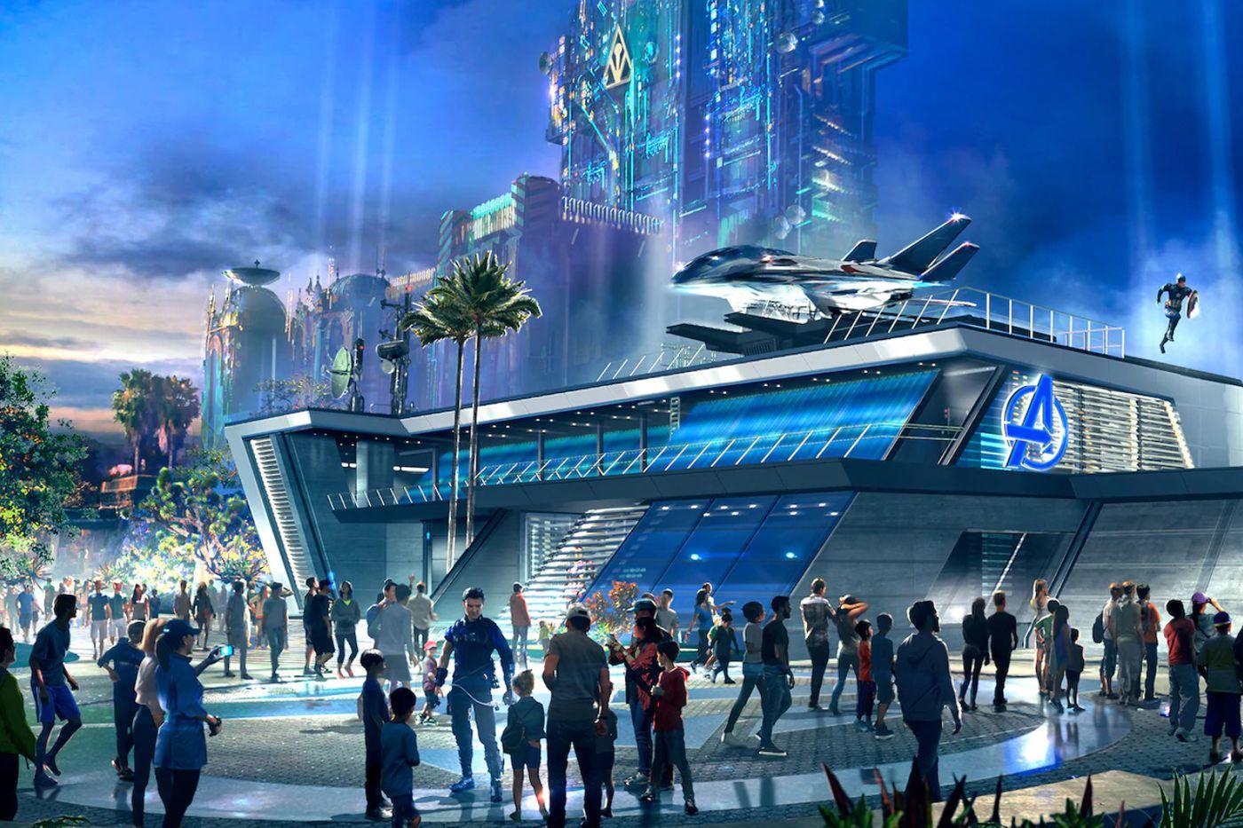 """先睹为快!加州迪士尼乐园的全新""""复仇者联盟园区""""将于6月4日向公众开放!"""