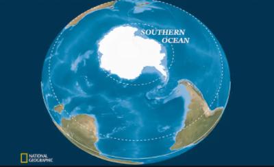 """美国国家地理学会宣布南冰洋成为""""第五大洋"""""""