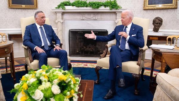拜登宣布,结束美军在伊拉克的战斗任务