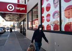Target因疫情反扑调整门店口罩限制