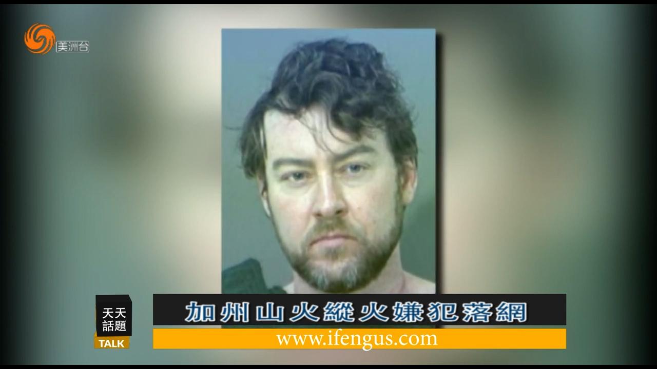 加州迪克西山火纵火嫌犯被抓为前大学老师