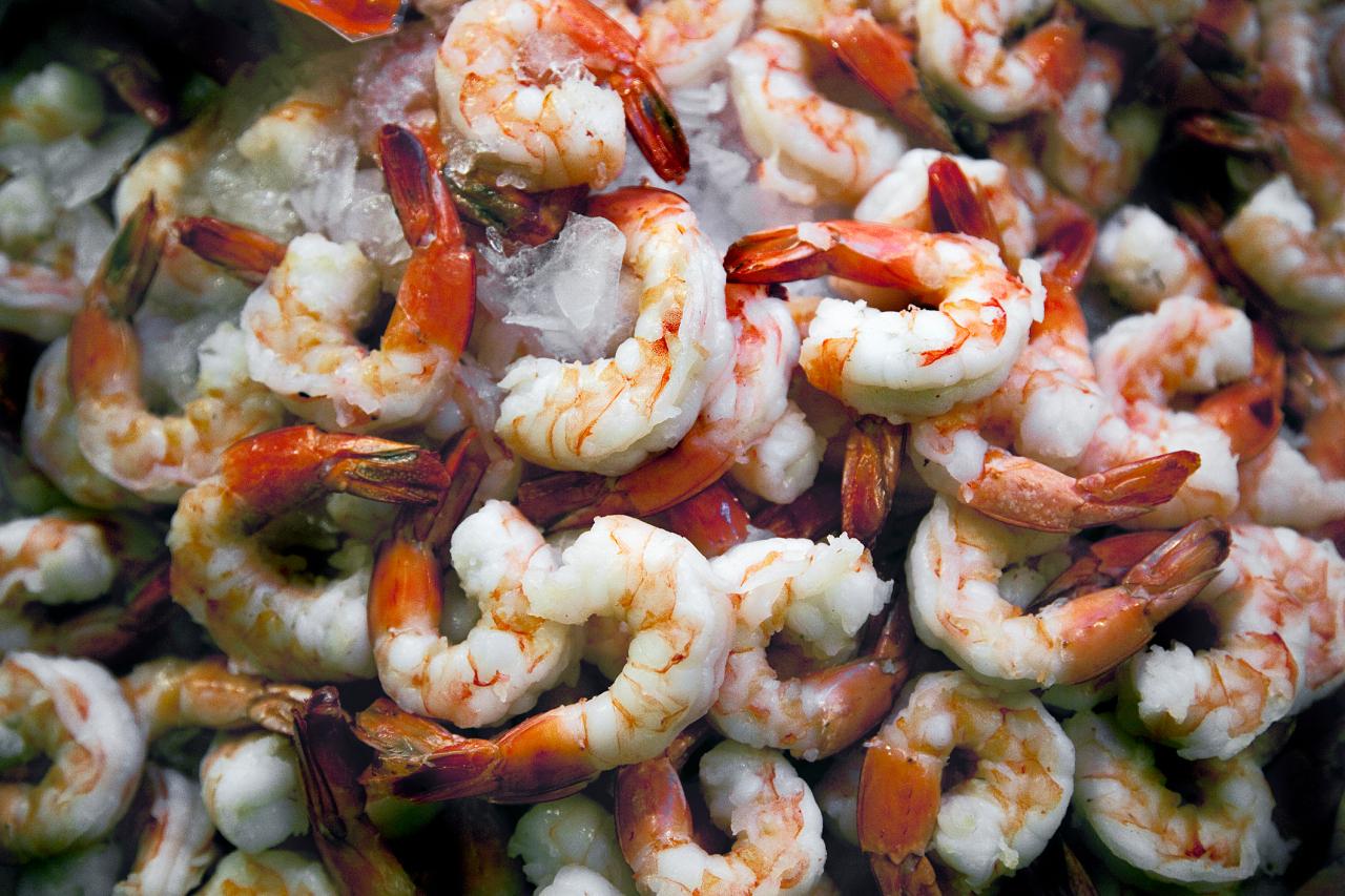 沙门氏菌再度爆发,各大超市召回20多种虾类产品