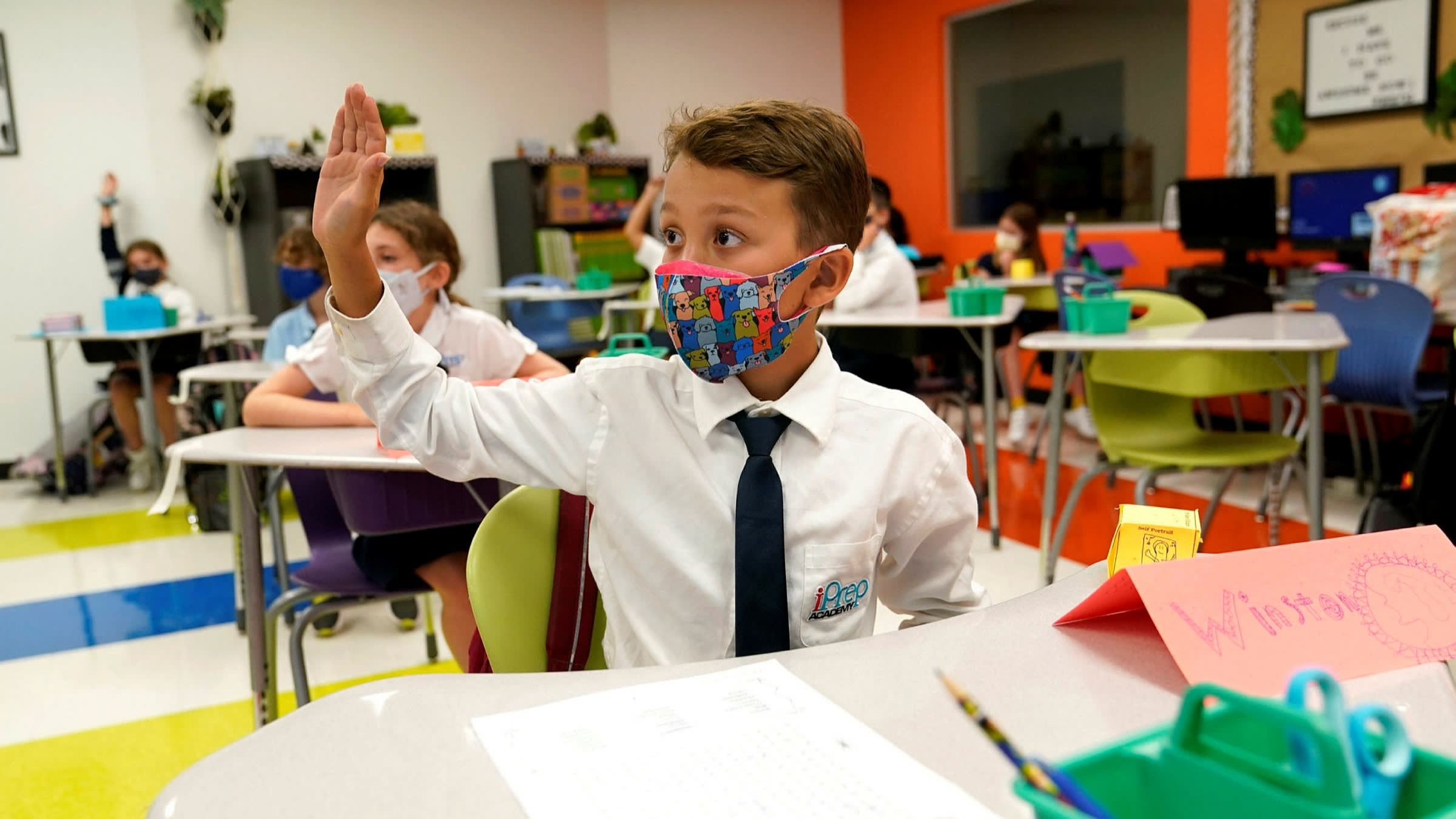 调查显示多数家长仍担心面对面授课带来新冠感染风险