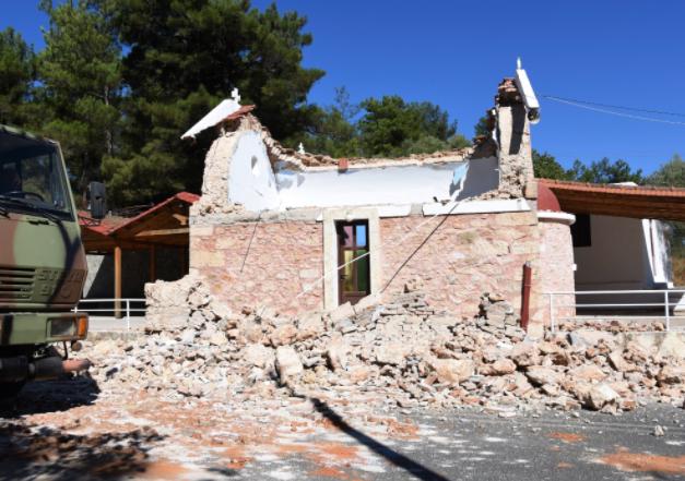 希腊克里特岛发生5.8级地震后余震不断
