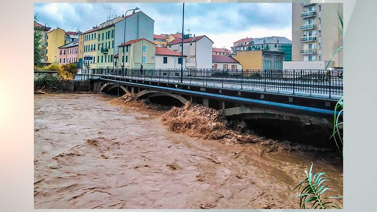 极端风暴席卷中欧地区 意大利12小时内降雨742毫米