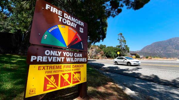 洛杉矶县至2050年将有56%的居民受到极端天气威胁