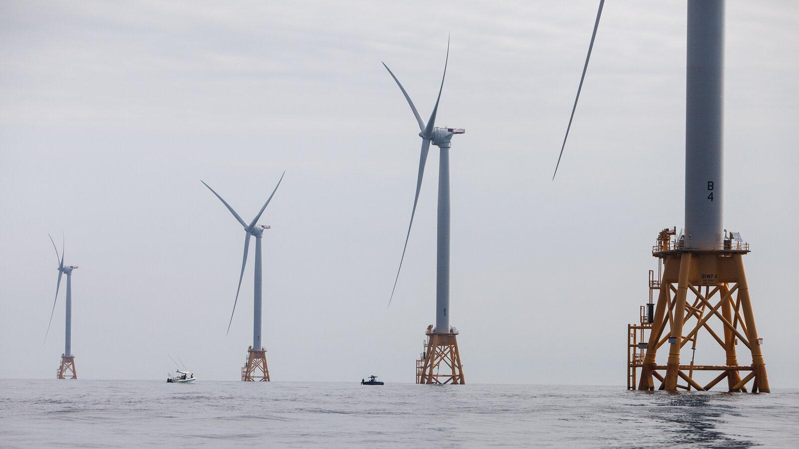 拜登政府计划在海岸建立7座大型风力电场
